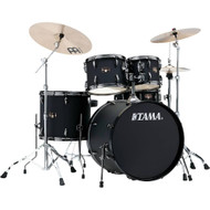 Tama Imperialstar Complete Drum Set Blacked Out Black