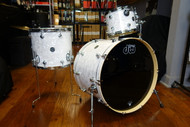 DW Performance Series 3pc Drum Kit White Marine 13/16/24