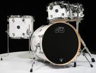 DW Performance 4pc Drum Kit White Marine 10/12/14/20