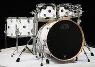 DW Performance Series 7pc Drum Kit White Marine