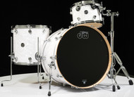 DW Performance Series 3pc Drum Kit White Marine 13/16/24 Shallow