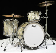 Ludwig Classic Maple PRO Beat 3pc Shell Pack 13/16/24 - Olive Pearl - Front