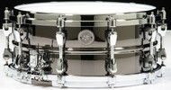 TAMA Starphonic Steel Snare 6x14 Black Nickel Shell