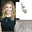 SPANX Founder Sara Blakely's sons handwriting turned into a diamond charm