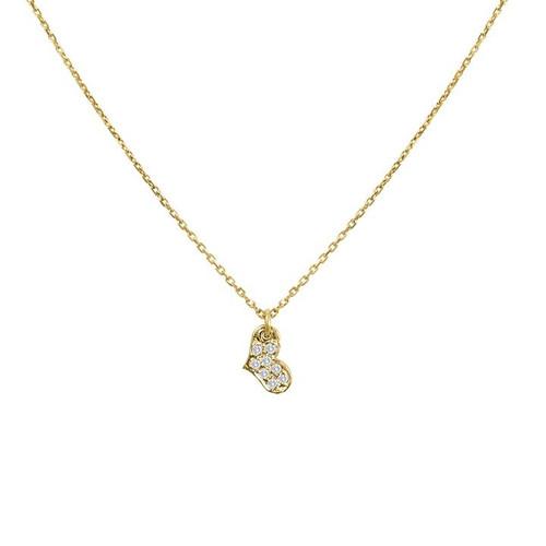Tiny Diamond Heart