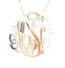 Large Swirly Monogram