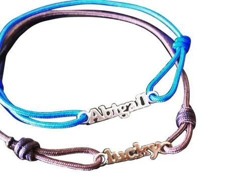 Mini Nameplate Friendship Bracelet