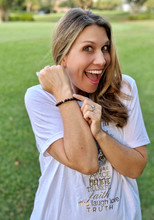 Breathe #GIVINGBEADS Bracelet Designed by Kristen Hewitt