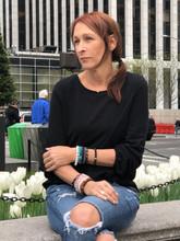 Peace #GIVINGBEADS Bracelet Designed by Lori Gilman