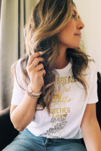 Glow #GIVINGBEADS Bracelet Designed by Melissa Meyers