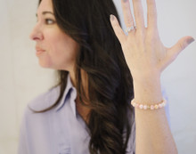 Believe #GIVINGBEADS Bracelet Designed by Melissa Gerstein