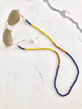 Sunshine Turquoise Beaded Eyeglass Chain