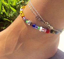 Custom word Anklet