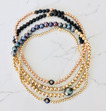 2 for 1 Gold Filled Beaded Choker