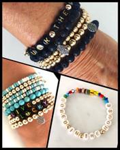 ABC'S Beaded Bracelets
