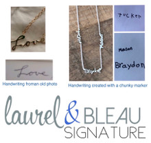Laurel & Bleau Signature Upload photo Form