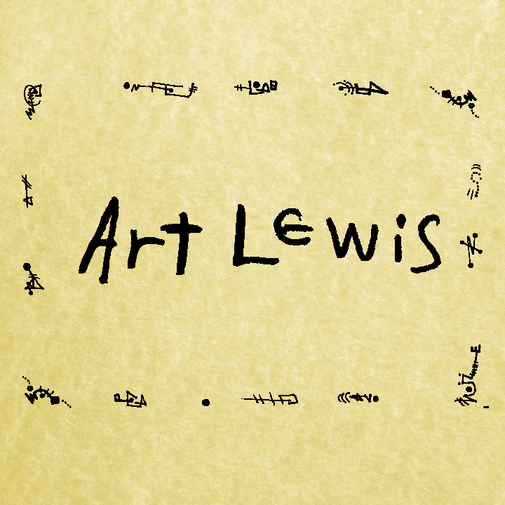 Art Lewis artist page at the Bumperactive store!