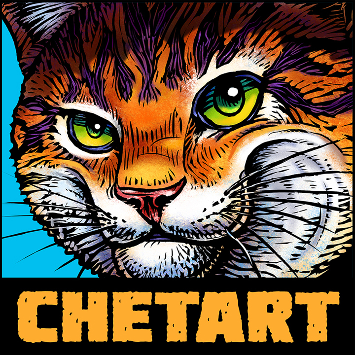 ChetArt page at the Bumperactive store!