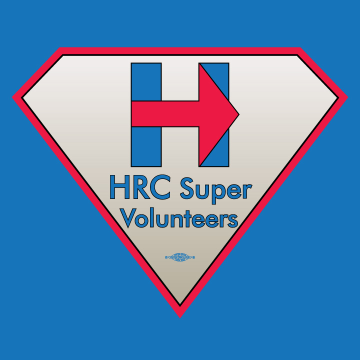HRC Super Volunteer Logo