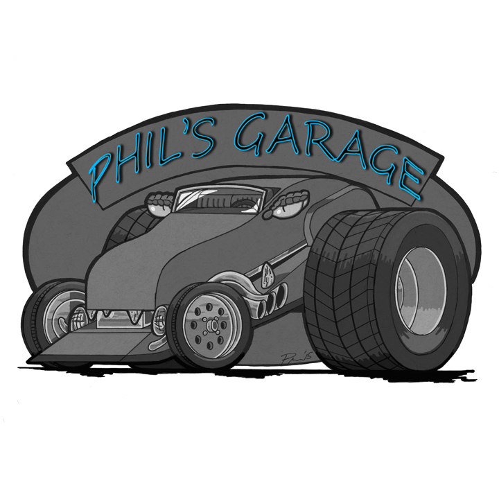 Phil's Garage page at the Bumperactive store!
