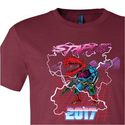 STAPLE! 2017 Official Staplegator Tee!