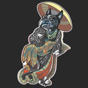 Dave Lamplugh - Geisha Terrier Tee