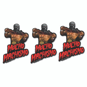 Jon Smith - Mucho Machismo Sticker Pack