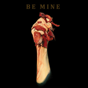 """Be Mine"" on Black by Travis Jarrell for the Bumperactive Valentine Series."