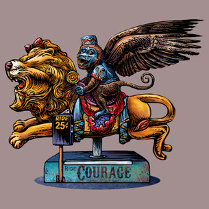 """Courage"" by Chet Phillips."
