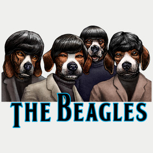 """The Beagles"" by Chet Phillips."