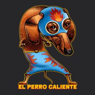 """""""El Perro Caliente"""" by Chet Phillips."""