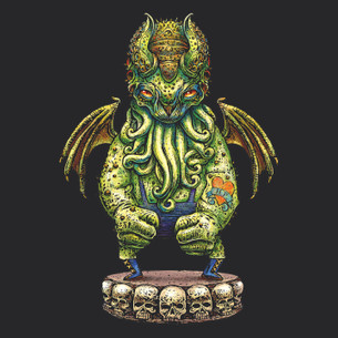 """Cthulhu Wrestler"" by Chet Phillips."