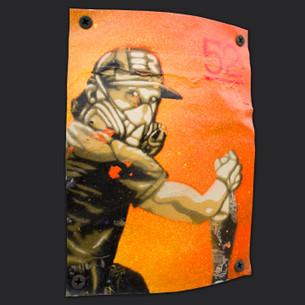 """Orange Mask"" by G52."