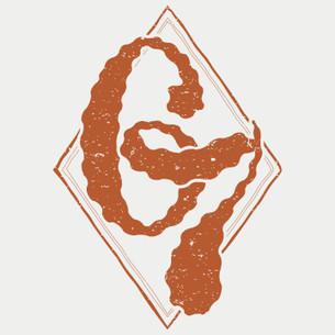 """""""67 Classic Logo"""" in Texas Orange on White."""