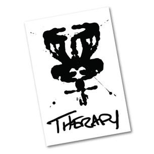 """Therapy DISCgolf"" 2.75"" x 4.125"" Sticker"