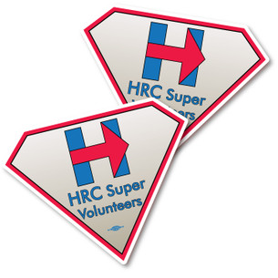 HRCSV Logo Sticker -- Pack of Two!