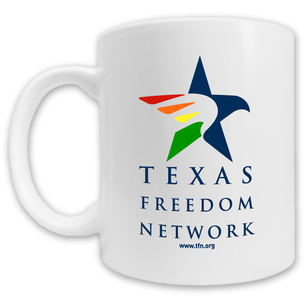 """Texas Freedom Network Logo"" Mug -- 11oz ceramic"
