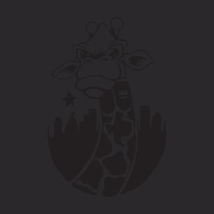 """City Draff"" Graphic (on Black Tee)"