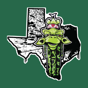 """Texas Draff"" Graphic (on Evergreen Tee, Unisex only)"
