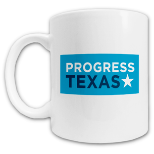 """Progress Texas Logo"" Mug -- 11oz ceramic"