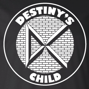 """Destinys Child"" Graphic by Nate Sakulich (On Black Tee)"