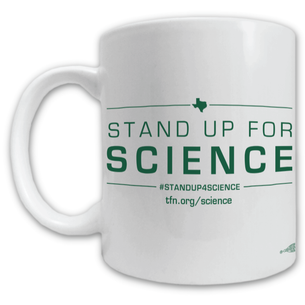 """Stand up for Science"" Mug -- 11oz ceramic"
