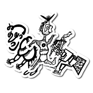 Art Lewis Assorted Sticker pack