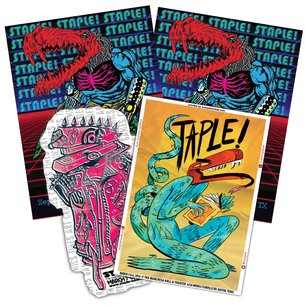 STAPLE! 2017 Assorted Sticker pack!