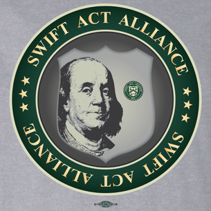 SWIFT Act Alliance Logo (On Athletic Heather Tee)