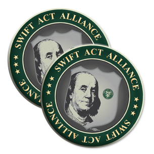 """SWIFT Act Alliance Logo"" 2.25"" Mylar Buttons"