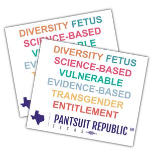 """Keyword PSR""  4x3"" Custom Stickers"