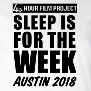 Sleep Is For The Week (On White Tee)
