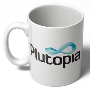 Plutopia Logo (11oz. Ceramic Mug)