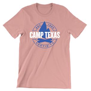 Camp Texas (Unisex Desert Pink Tee)